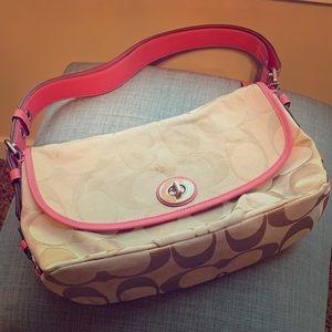 Coach handbag/shoulder bag